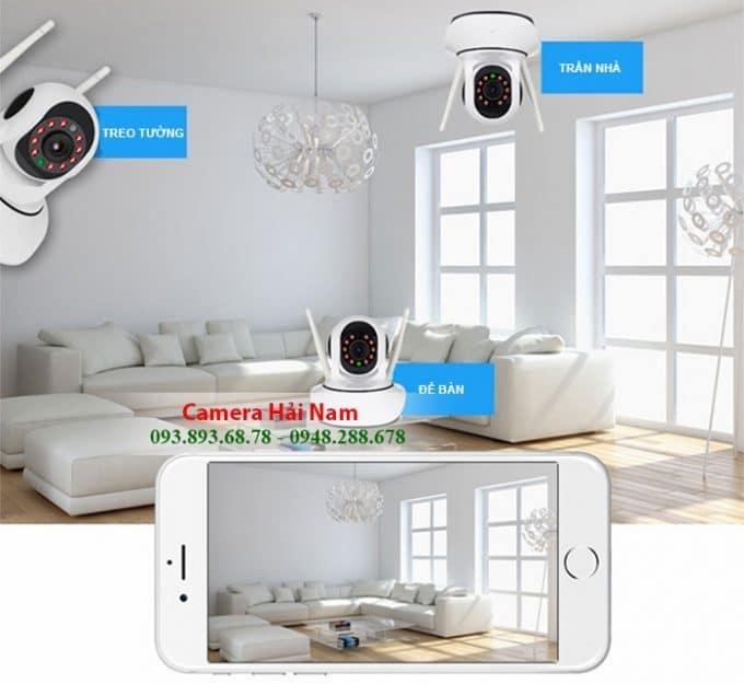 Camera không dây gắn tường cho gia đình