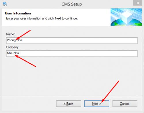 cms camera software