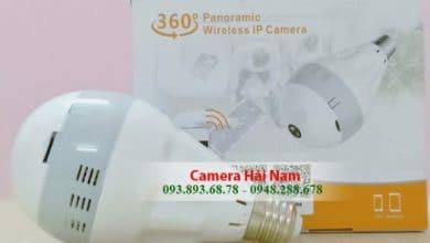 Photo of Camera ngụy trang bóng đèn điện có hồng ngoại giá rẻ
