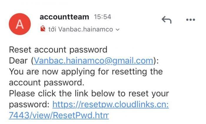 đổi lại mật khẩu Yoosee