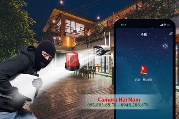 camera yoosee ngoài trời có chống trộm