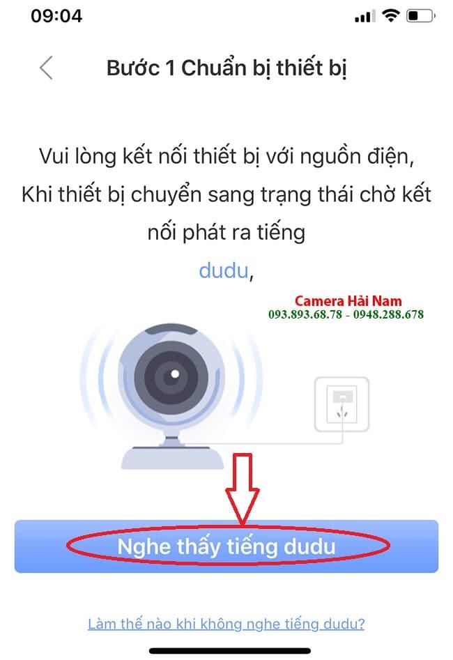 kết nối camera yoosee trên điện thoại
