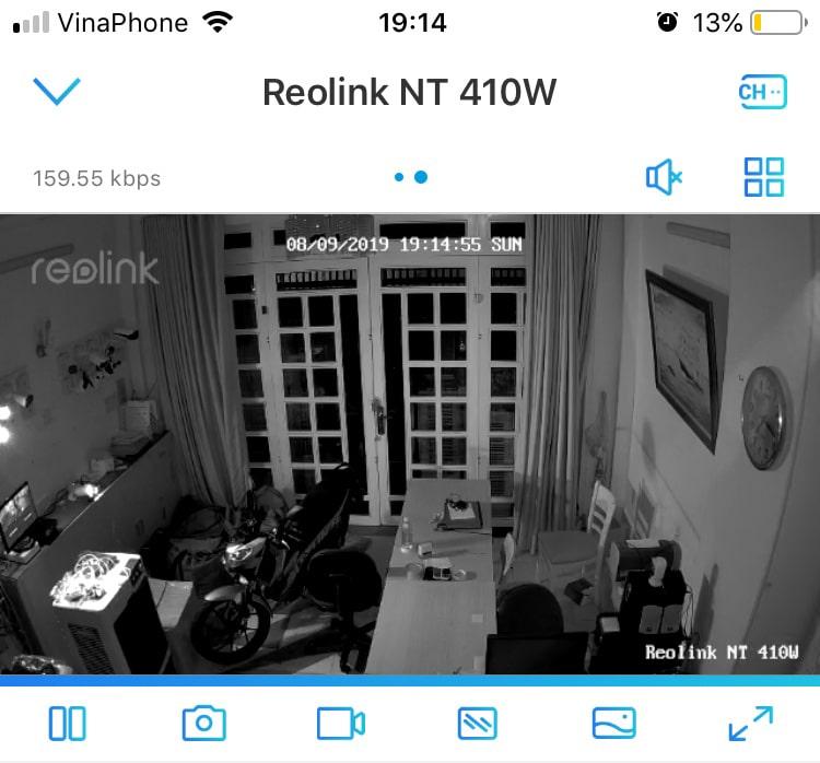 xem lại camera reolink e1 pro