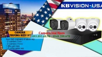 Photo of KBVISION | Báo Giá Lắp Đặt Trọn Bộ Camera KBVISION