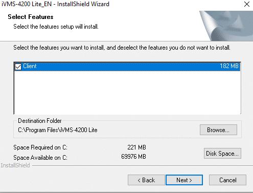 cài đặt iVMS 4200 Lite trên máy tính
