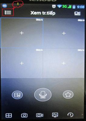 xem camera dahua trên điện thoại android