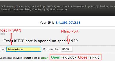 Photo of NAT port là gì? Cách Mở Port Modem Viettel, FPT, VNPT