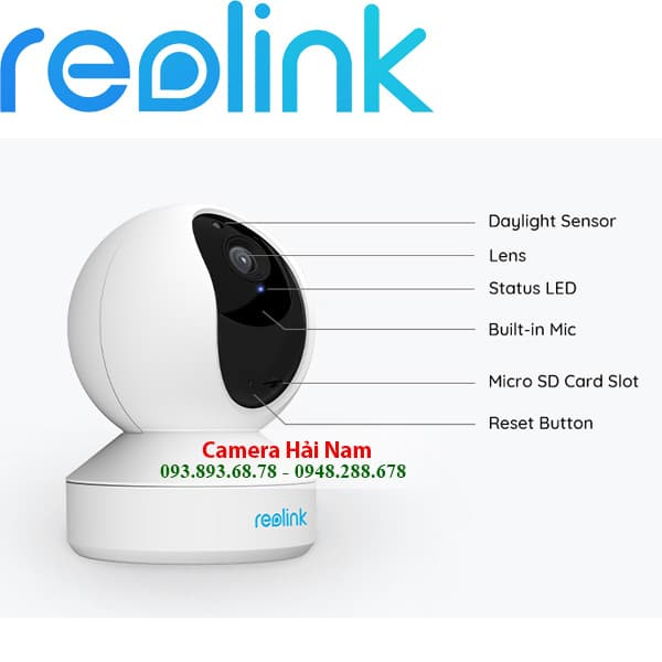 CAMERA WIFI REOLINK E1 3MP a