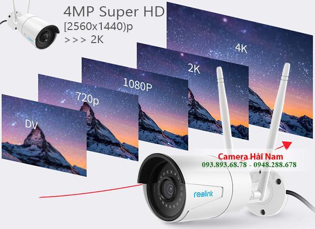 camera wifi reolink rlc 410w 14