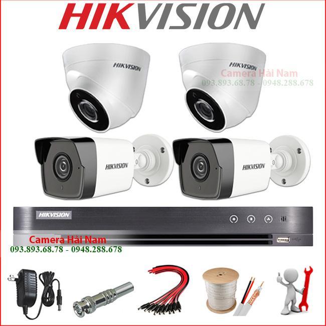báo giá camera hikvision