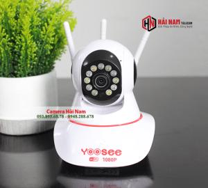 Camera wifi Yoosee 2MP 3 rau ghi hinh mau ban dem 1